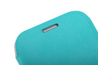Чехол Flip Cover для Samsung Galaxy Grand i9082 Light Blue